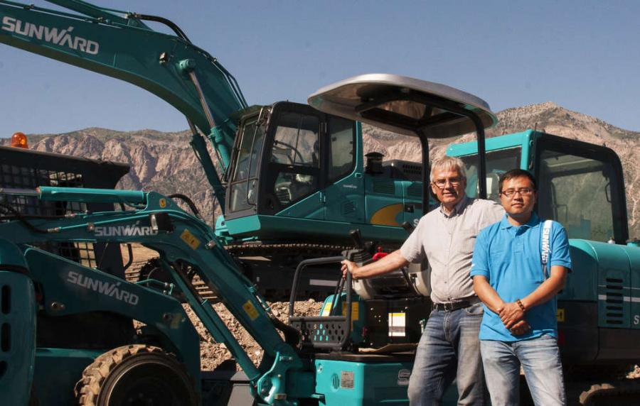 China's Sunward Equipment Arrives in North America