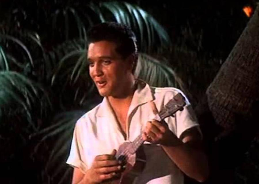 "Work has finally begun on rebuilding the storied resort where Elvis Presley's character got married in the 1961 film ""Blue Hawaii."""