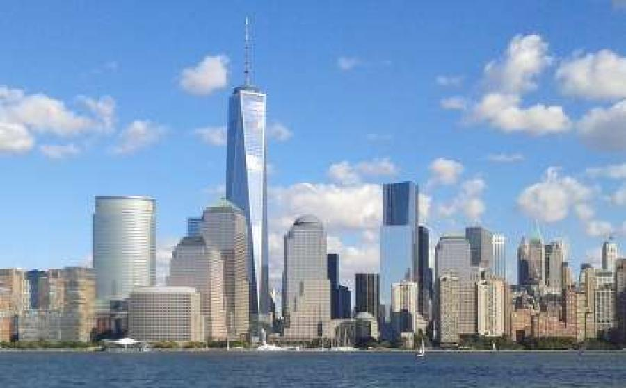 Almost 15 years after the twin towers collapsed, the site of the Sept. 11 terror attacks has turned into a resplendent hub of soaring architecture.