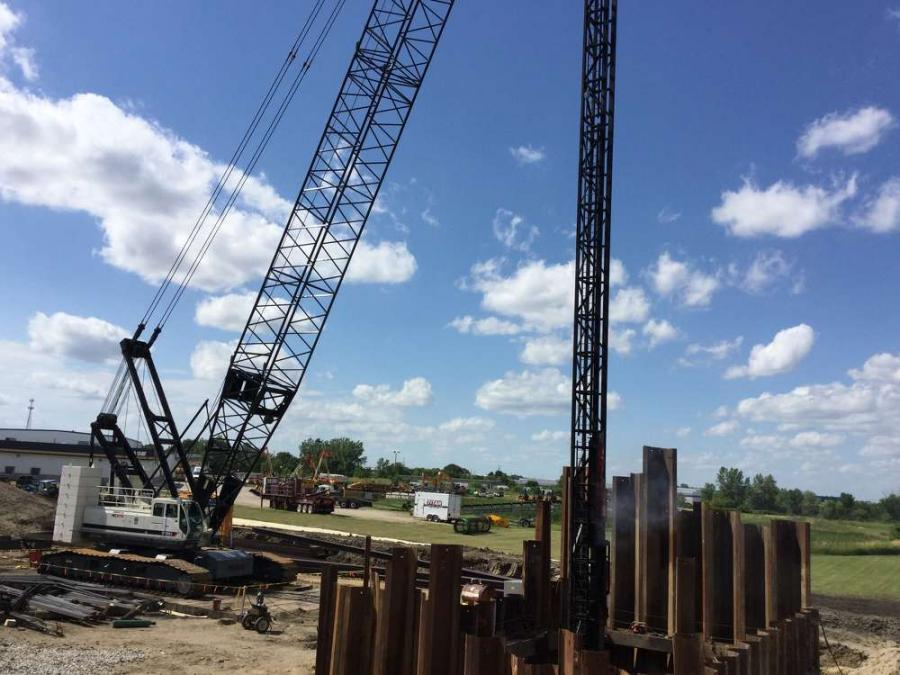 """The heaviest of the segments will weigh 85 tons  (77 t), requiring the need for """"massive cranes,"""" and three each per segment."""