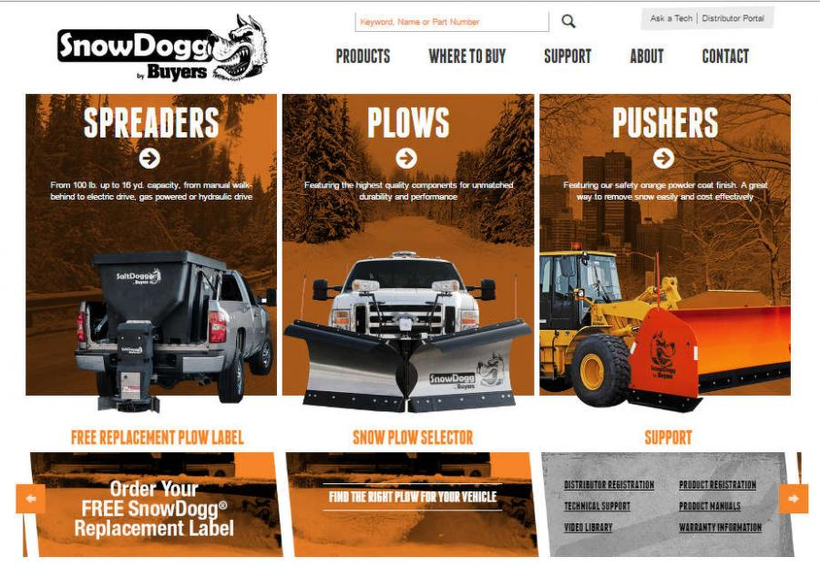 The site includes a number of new features, as well as updates to older features, such as a refreshed look and feel for the popular snow plow selector.