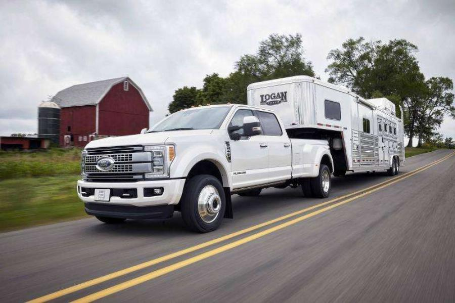 OEM says adaptive cruise control can function even when towing 32,000 lbs.