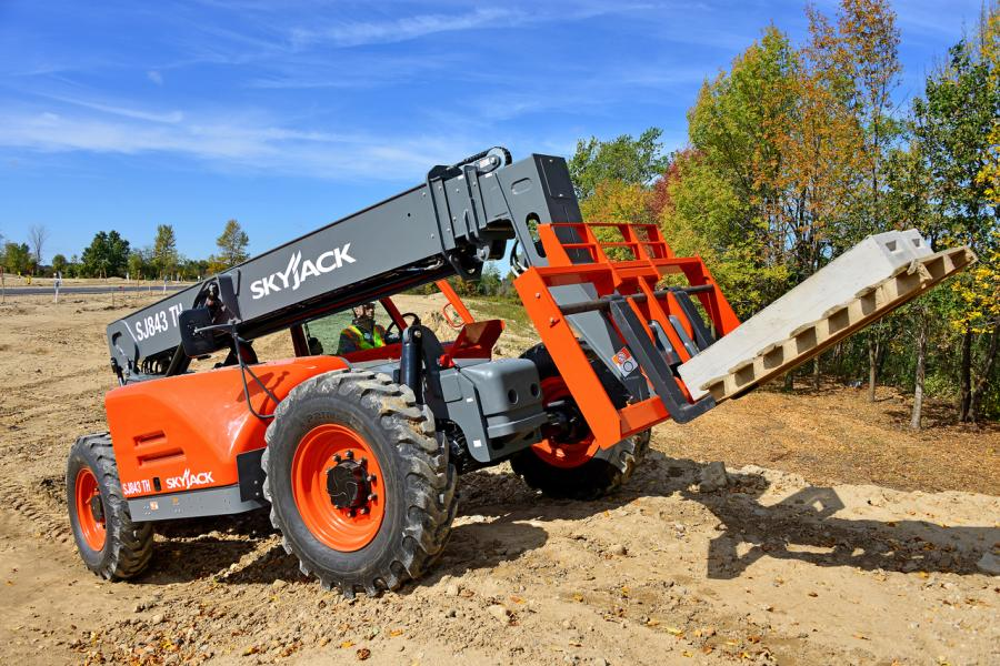 Skyjack, Inc. has introduced a new telescopic handler range that features high-torque, 74hp, Tier-4-Final engines from DEUTZ.