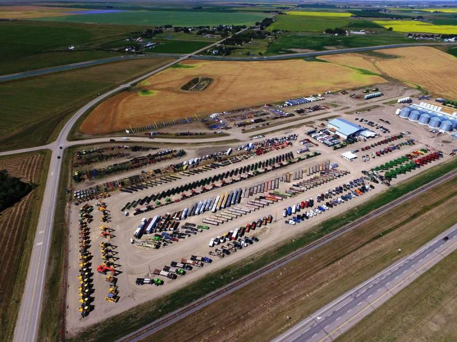 Ritchie Bros. sold CA$24+ million of equipment and trucks at its largest-ever Lethbridge, AB auction last week (CNW Group/Ritchie Bros. Auctioneers