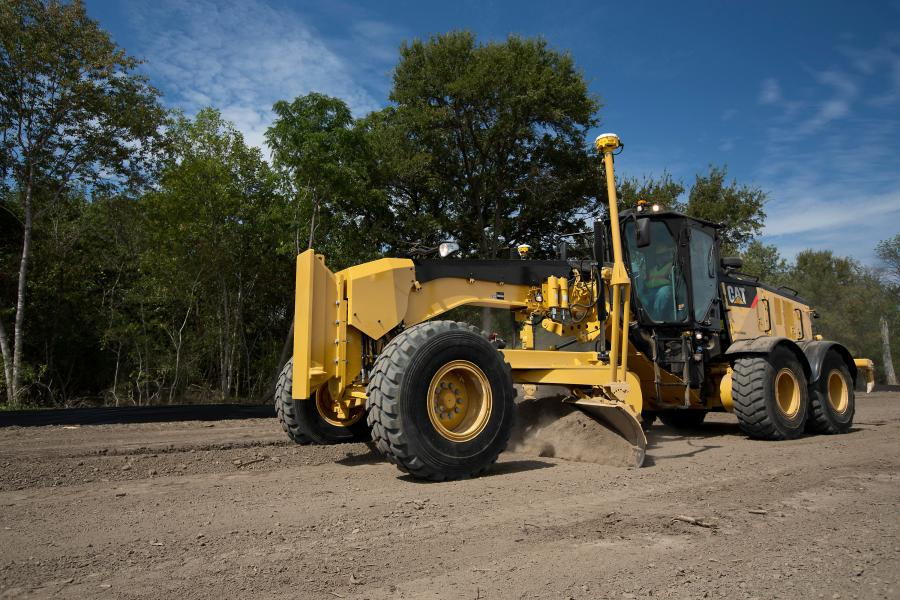 The new Cat 14M3 motor grader builds on the solid design of predecessor models with a larger engine.
