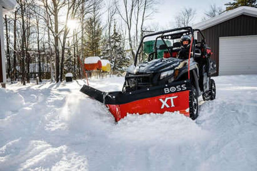 BOSS Snowplow continues to expand its snowplow offerings with the addition of the 5'6