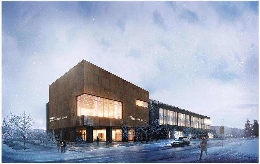 Design plans for Montana State University's new Norm Asbjornson Hall have been finalized, and