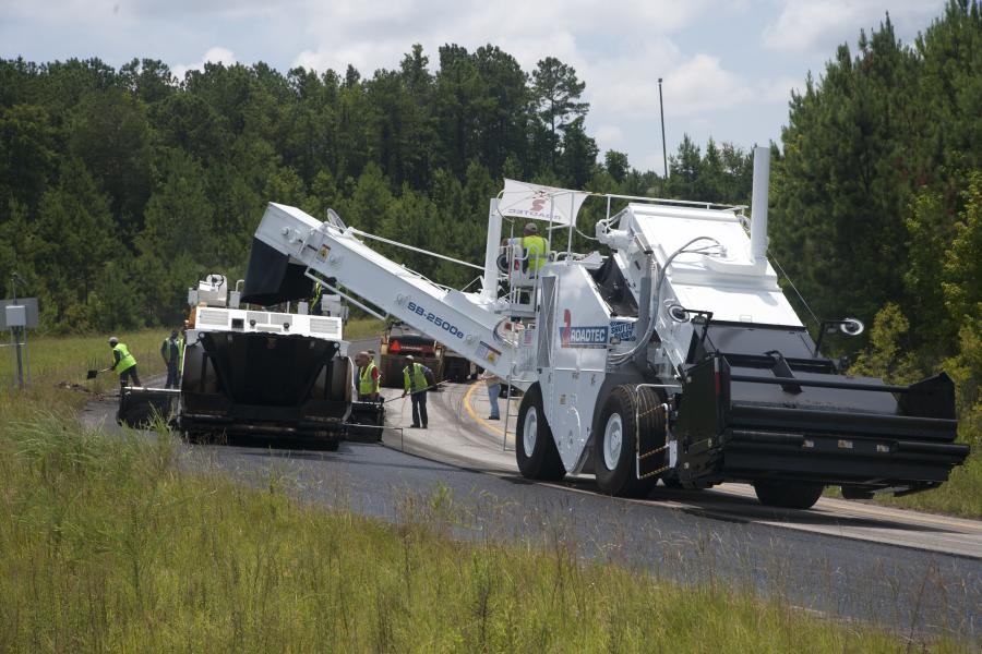 Roadtec has also become an industry leader in asphalt pavers, road milling machines, sweepers and soil stabilizers.