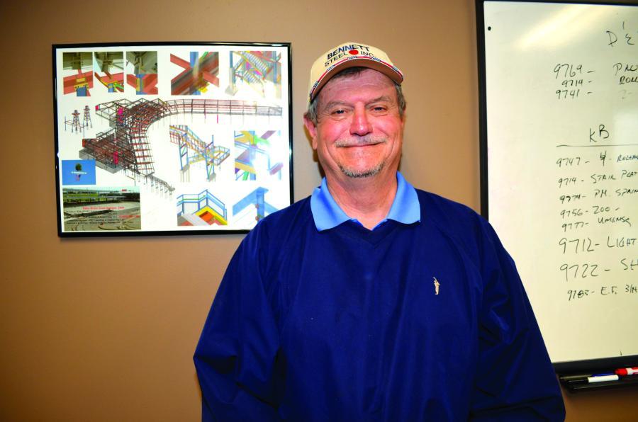 Dave Bennett, president of Bennett Steel.