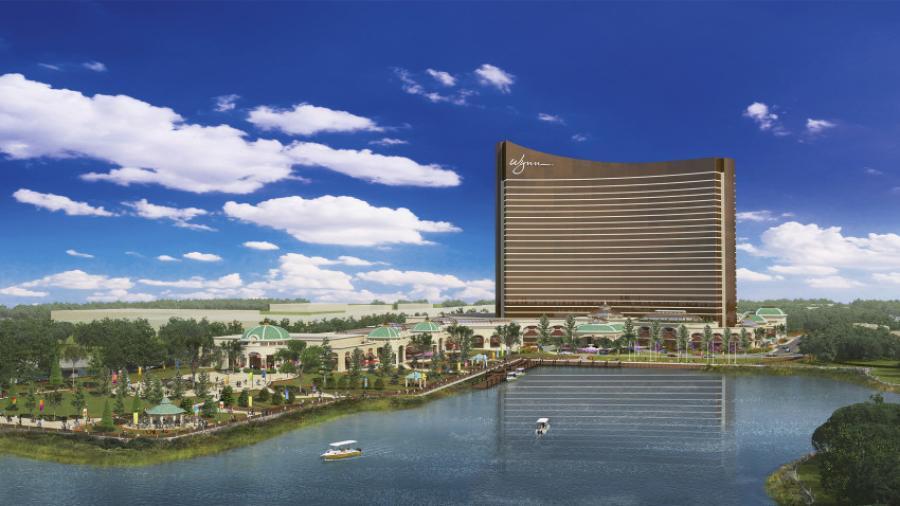 The planned Wynn Boston Harbor gaming resort.