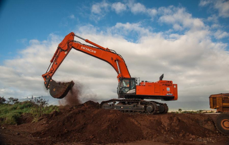 Hawaiian Dredging Construction Company (HDCC) selected a Hitachi ZX870LC-6 to join its fleet of excavators.