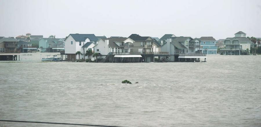 Galveston was devastated by Hurricane Ike in 2008.