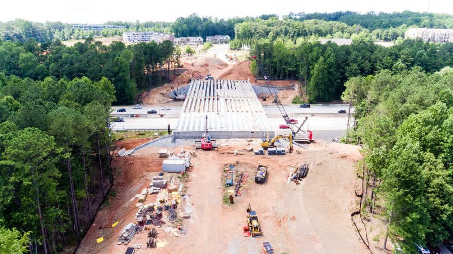 C.W. Matthews photo A $17.9 million project that will transform a well-traveled area in Alpharetta, Ga., has crews juggling multiple tasks, while dealing with an aggressive construction schedule.