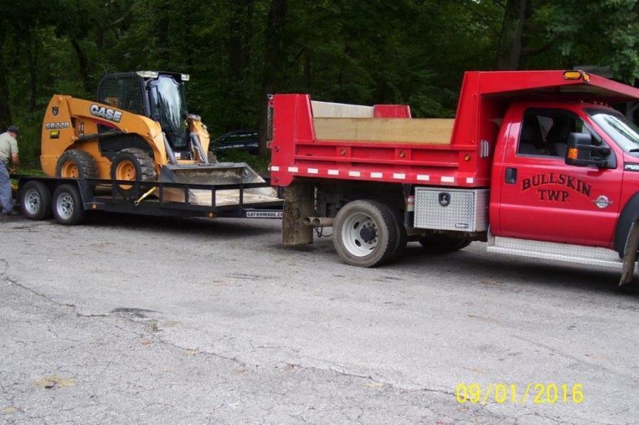 CASE CE dealer, Groff Tractor, sent a CASE SR220 to Bullskin Township.