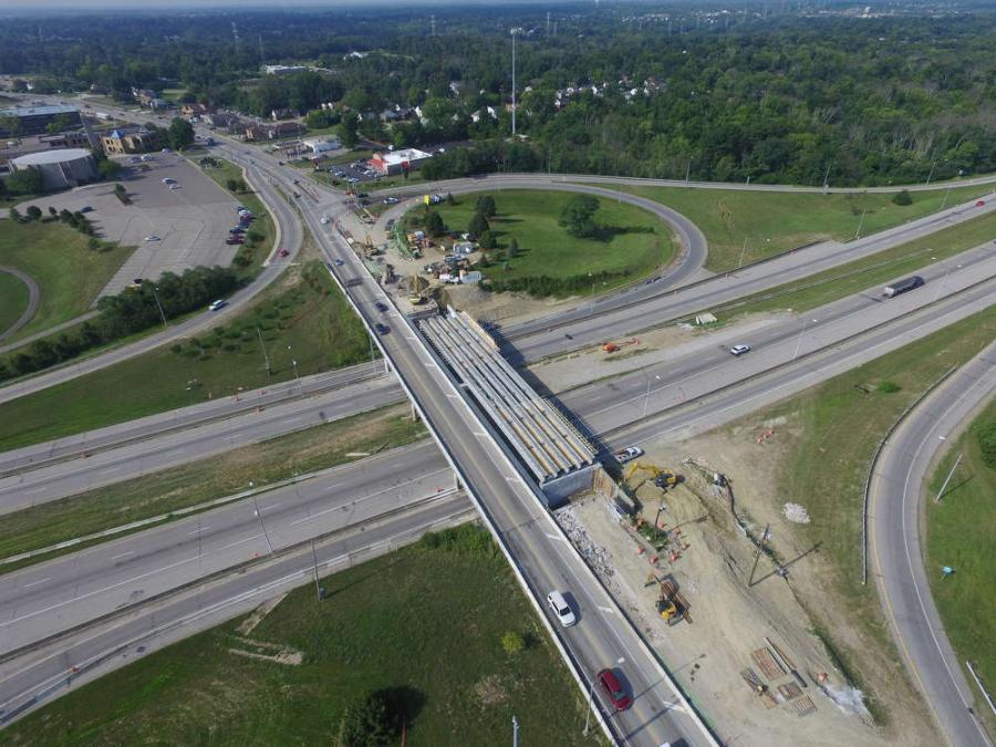 The $8.2 million Ohio Department of Transportation's (ODOT) North Bend Road Bridge replacement in Cincinnati began on April 18 when crews from the Sunesis Construction Co. arrived on the scene for the project that will be completed in August 2017.