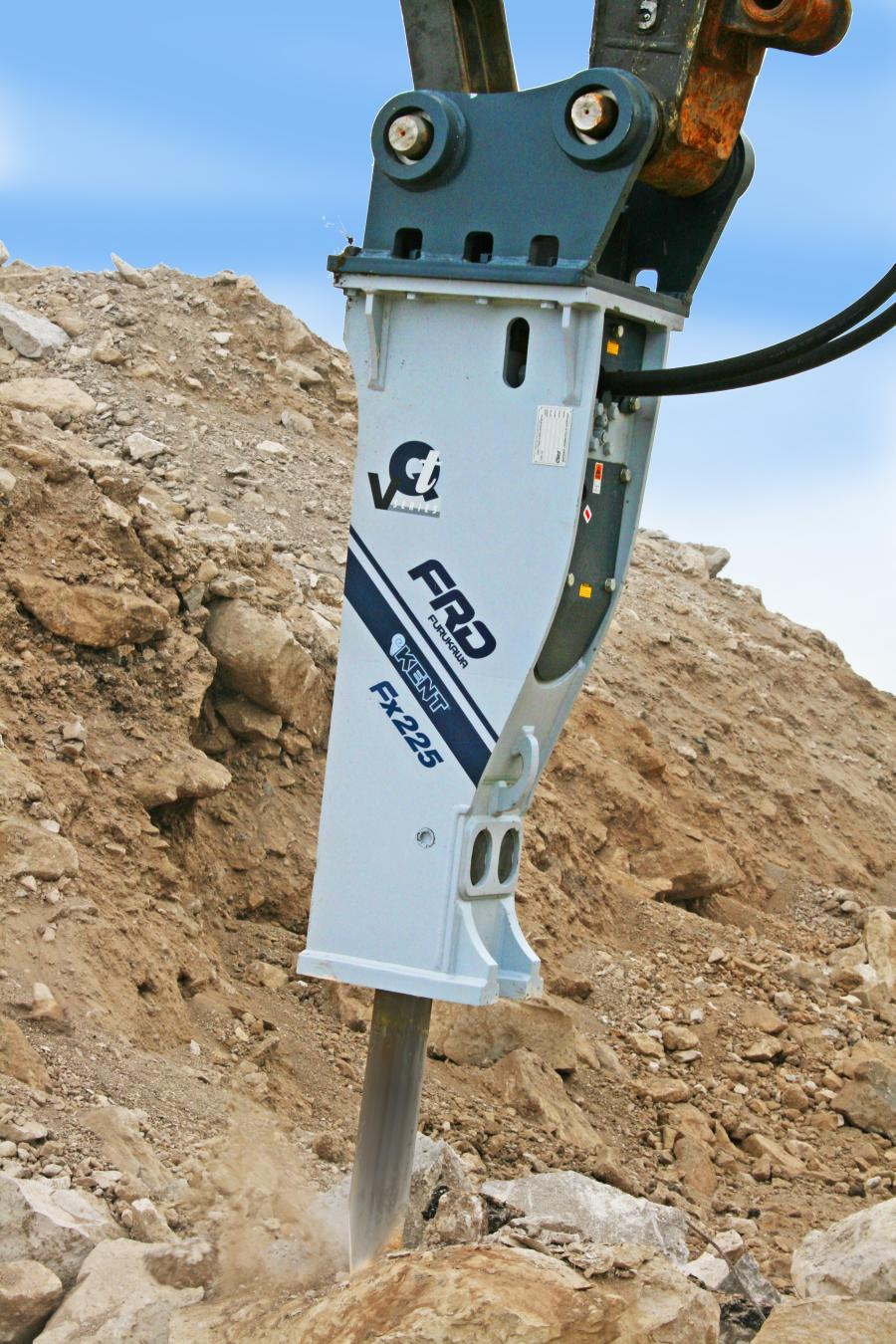 The Fx225 is the latest in FRD USA's line of hard-hitting, large-series breakers. The hammer is designed to help improve day-to-day performance, providing less maintenance and downtime, smoother operation, added strength and a high level of reliability.