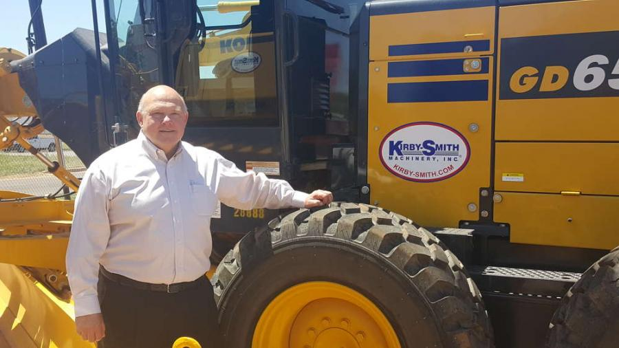 Del Keffer has been named vice president of sales of Kirby-Smith Machinery.