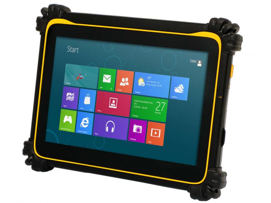The DT395 tablets are highly durable to withstand extreme environments.