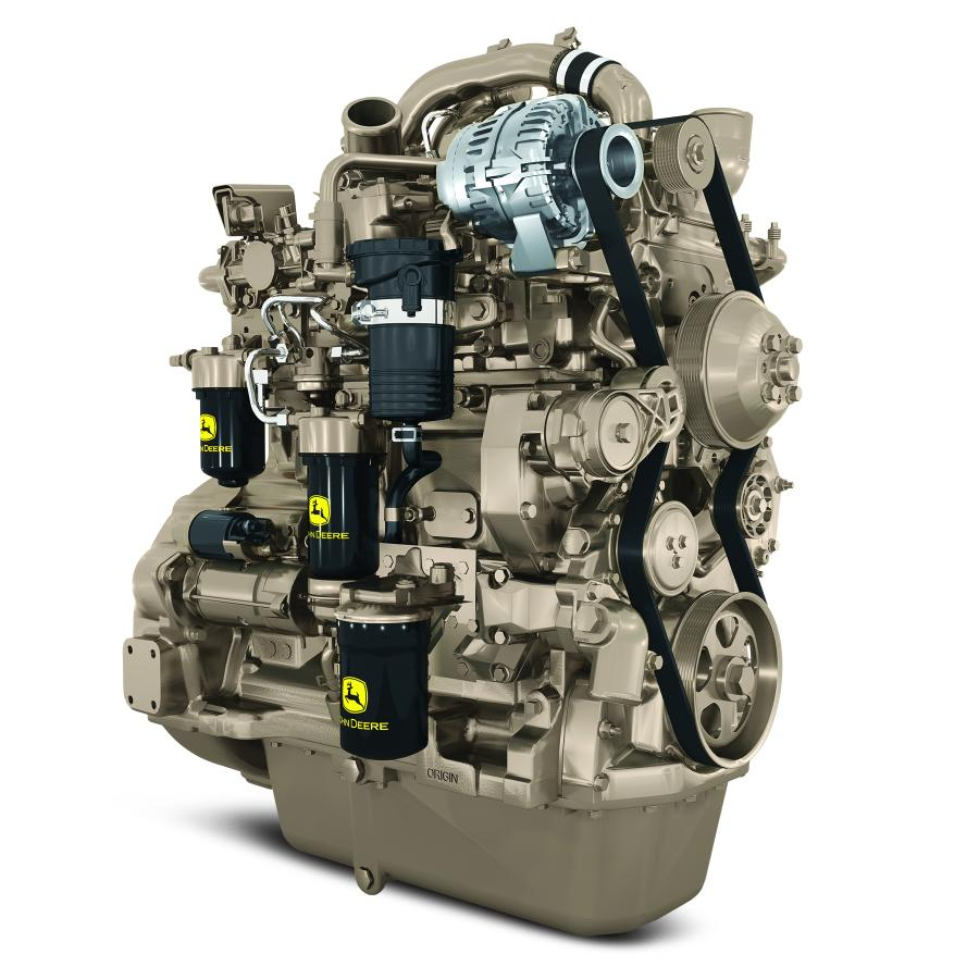 The PowerTech PWL and PSL 4.5L engines complement the Final Tier IV PSS 4.5L engine equipped with a DPF, providing OEMs with greater application flexibility.