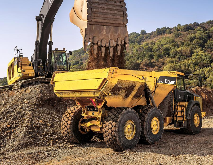 The History of Articulated Dump Trucks | Construction