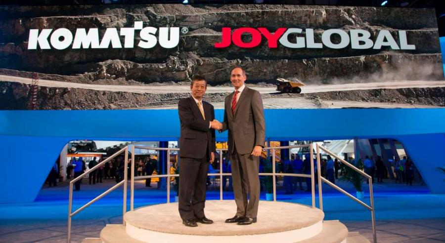 Tetsuji (Ted) Ohashi (L) and Ted Doheny reaffirmed their commitment to pursue new innovations that drive customer benefits after the acquisition is complete.