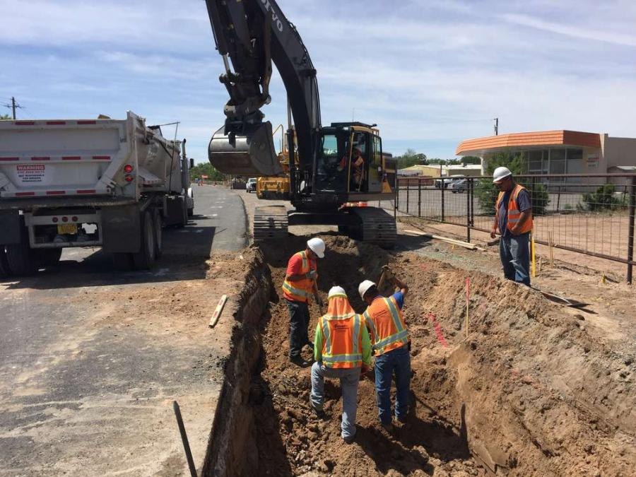 The $12.1 million roadway reconstruction project also includes utility work, new pavement cross-section, curbs and gutter with sidewalks and a drainage system along the corridor.