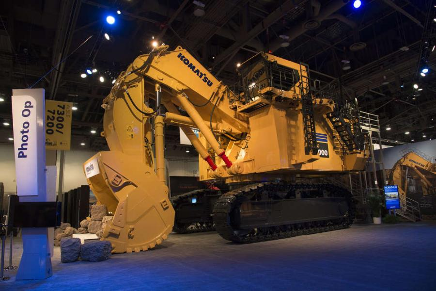 The Komatsu PC4000-11 is powered by a Tier 4 Final, 1875 HP, 16 cylinder, SDA16V160E-3 Komatsu engine with selective catalytic reduction (SCR) and time-saving engine oil management systems.