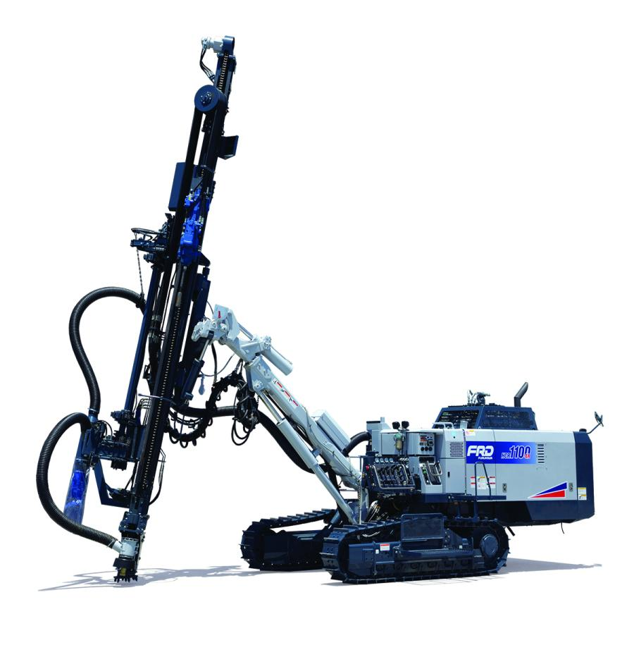 The new HCR1100-ER drill from FRD USA drills larger diameter holes, while offering enhanced operator control.