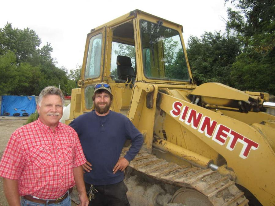 Scott Sinnett (L) and Scott Sinnett II.
