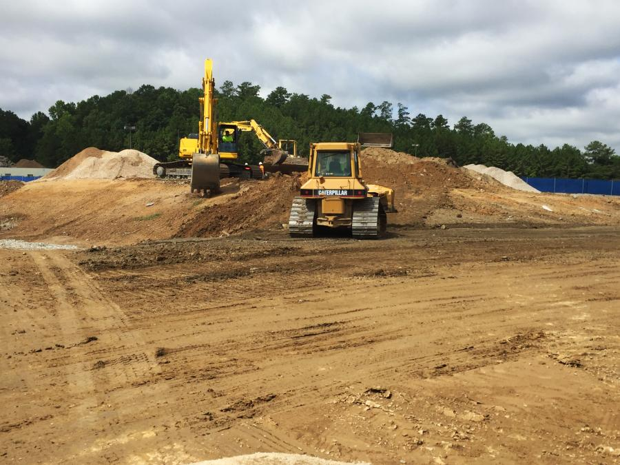 Brasfield & Gorrie photo. Corey Collier, Brasfield & Gorrie project manager, said  the site is currently being prepared for construction.