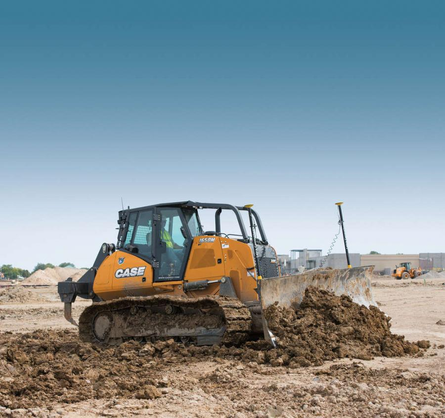 The Case M Series line of dozers includes five models ranging from 92 to 214 net hp.  The models include the 750M (92 hp), 850M (112 hp), 1150M (127 hp), 1650M (150 hp), and 2050M (214 hp).