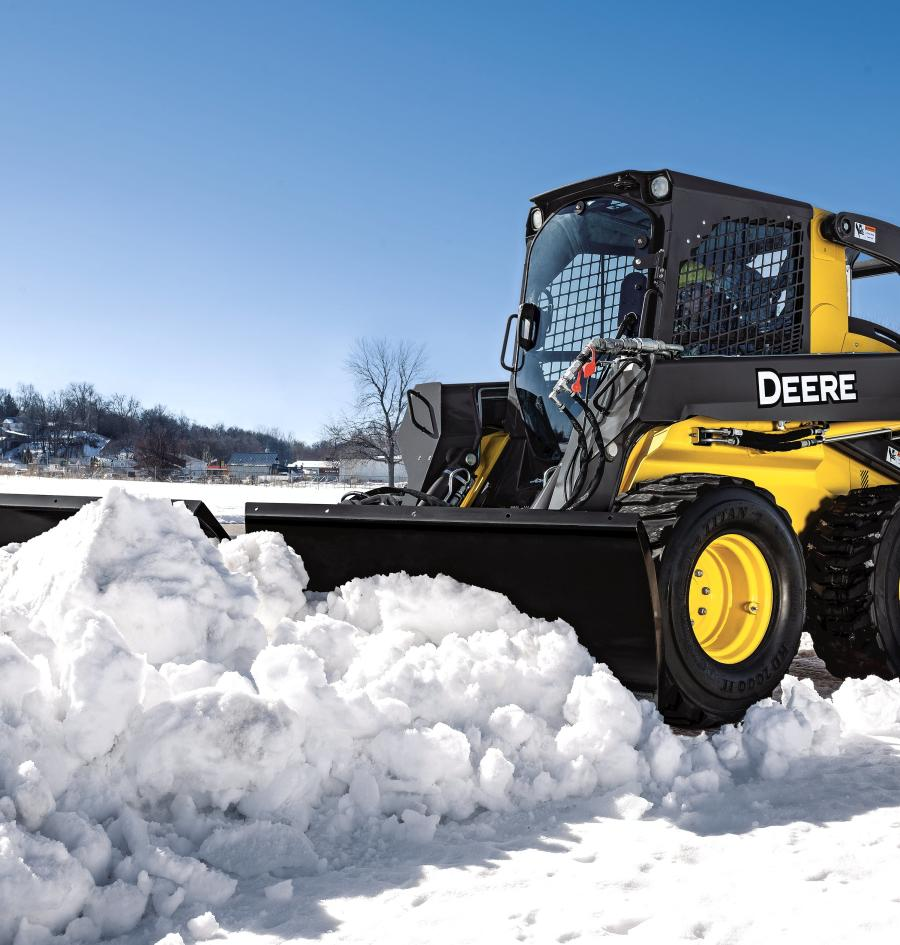 The three new models (BV6, BV8 and BV9) offer increased flexibility, performance and productivity. The John Deere Snow Utility V-Blades offer a variety of standard features to properly and efficiently tackle snow or light-dirt projects on the job site.
