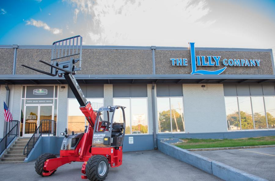 The Lilly Company will represent Manitou rough terrain vertical masted forklifts, semi-industrial vertical masted forklifts, truck mounted forklifts, multi-purpose telescopic handlers, and construction telescopic handlers.