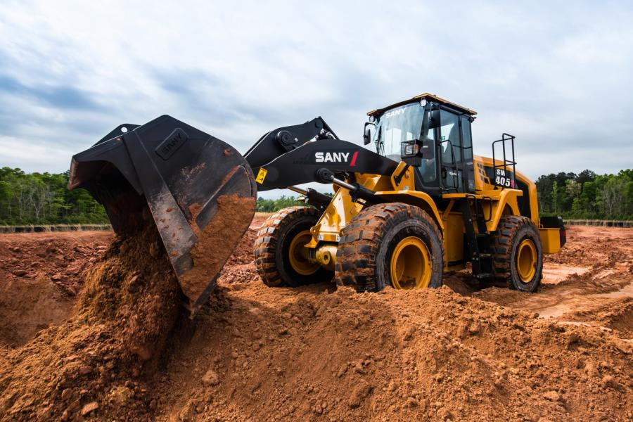 Sany will install DEUTZ TCD 7.8 diesel engines in its new SW405 wheel loaders.