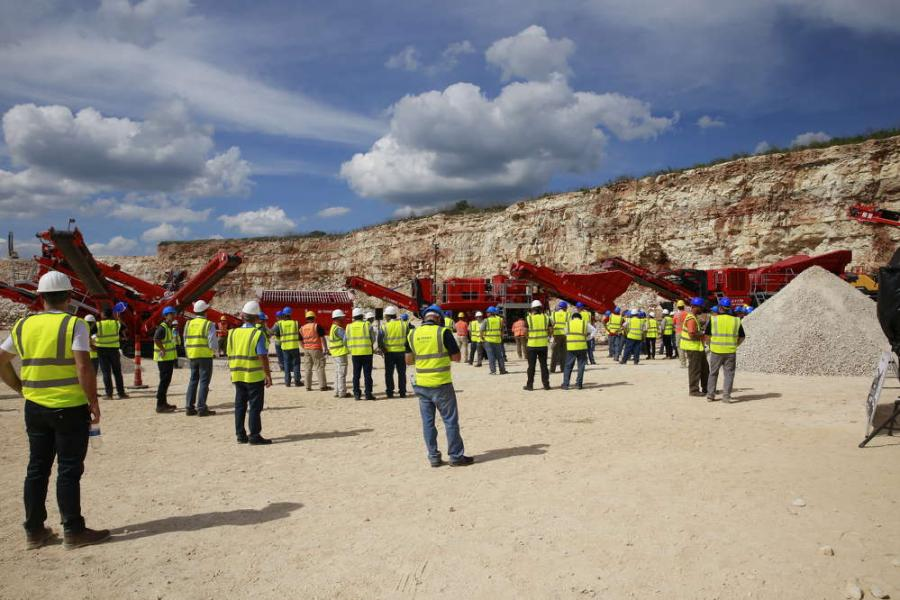 Martin Marietta hosted demonstrations 