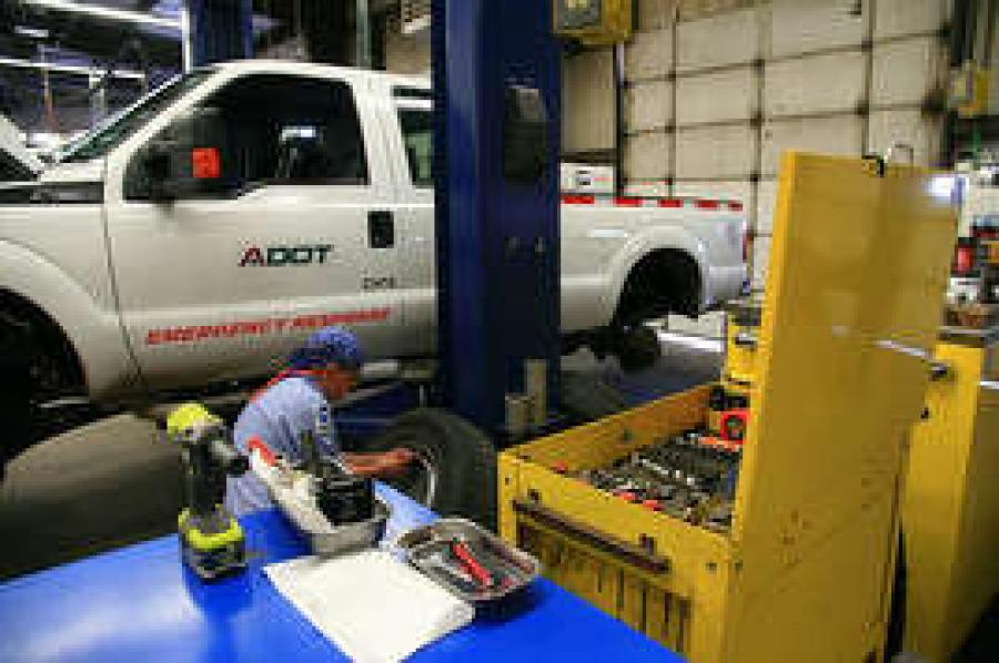 As ADOT answers Gov. Doug Ducey's call for state agencies to continuously improve all aspects of their operations, employees at the Tucson Equipment Services shop are identifying ways to do their jobs more efficiently, down to how they organize their workstations.