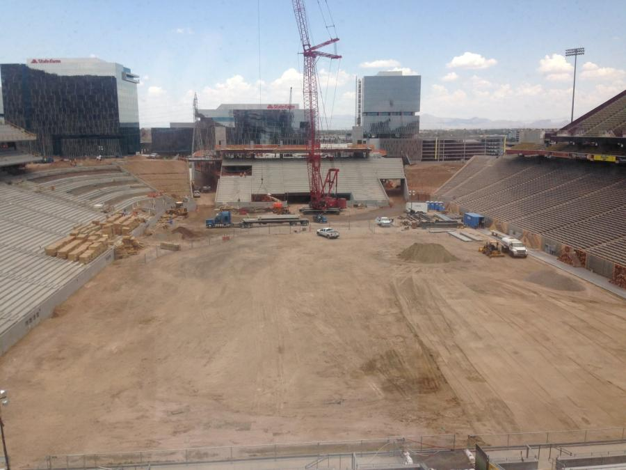 Arizona State University is postponing the final phase of reconstruction on its football stadium until after the 2017 season.
