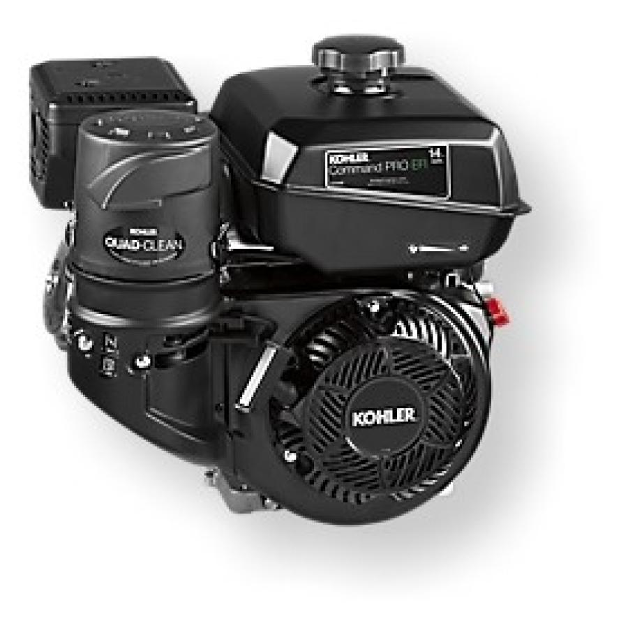 The ECH440LE engine offers the benefits of Kohler's EFI technology, including improved power and enhanced reliability.