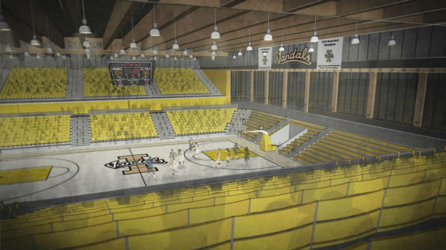 With plans for the arena to be constructed, in part, from Idaho's natural, renewable timber resources, forest industry partners and architects have been quick to show their support to use engineered wood in the construction.