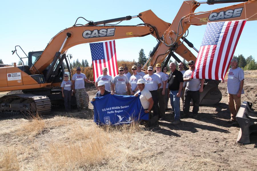 Team Rubicon used the exercise to train its members in the safe use and maintenance of heavy equipment for its disaster response operations.