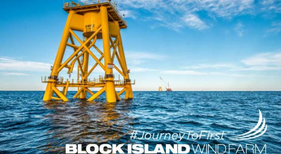 Block Island Wind Farm Caps off Successful First Offshore Construction Season