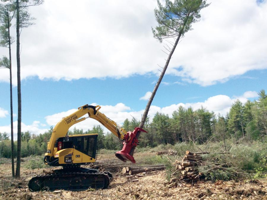 Komatsu Names Midlantic Forestry Equipment Dealer