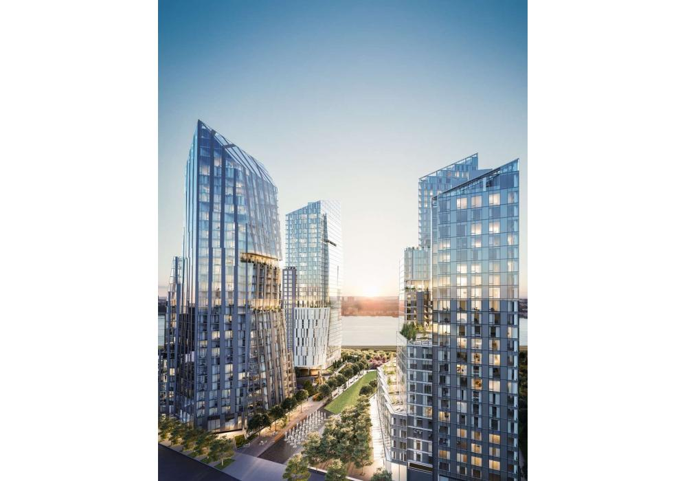 Architects Richard Meier & Partners Architects, Viñoly Architects, and Kohn Pedersen Fox Associates were commissioned to design an iconic collection of three luxury residential and mixed-use buildings, spanning approximately 3 acres, all of which will be developed and completed simultaneously.