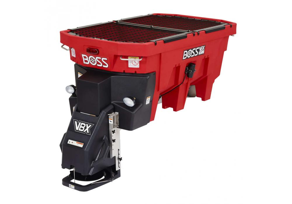 With a 1.5-cu.-yd. (1.1 cu m) capacity, the Boss VBX 6500 is built with a stainless 