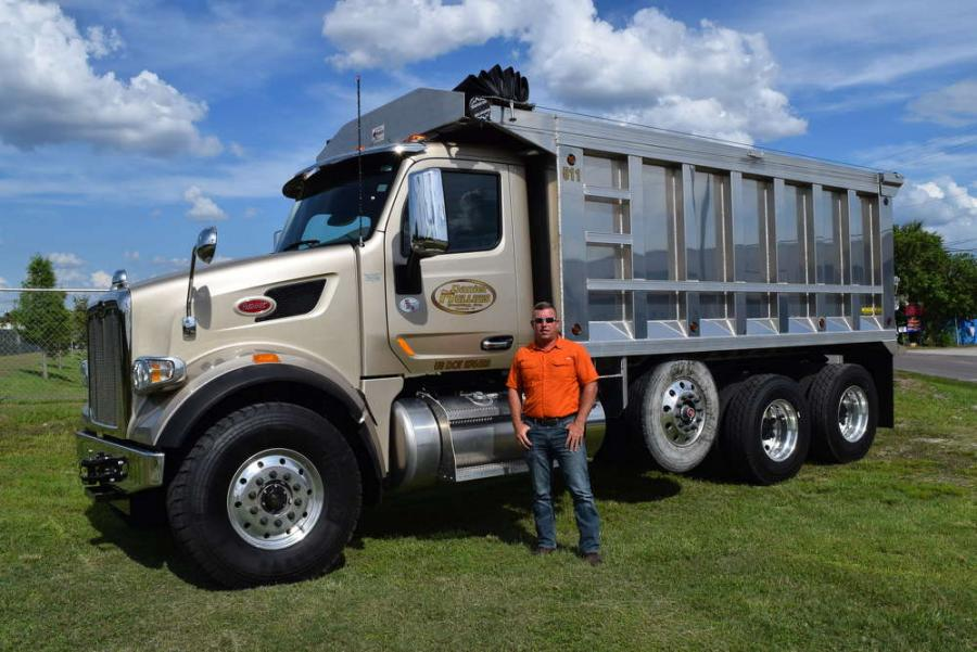 Danny Mullins, president of Daniel Mullins Trucking Inc.