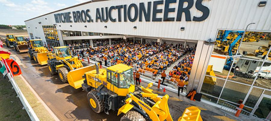 In 2016 Ritchie Bros. held six auctions at its flagship site in Edmonton, AB, selling more than 43,500 equipment items and trucks for more than $559 million.