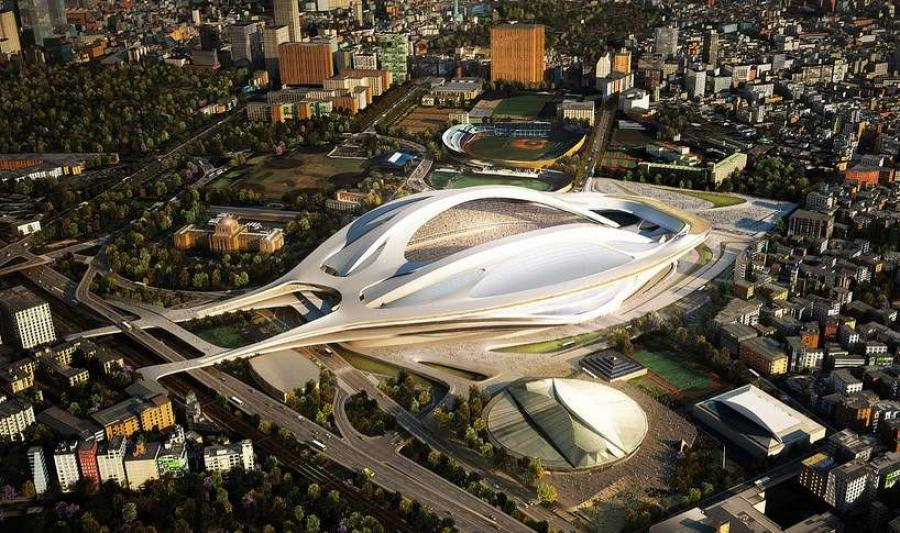 The new stadium will be built on the site of the demolished arena, which was exploited during the Olympic Games 1964.