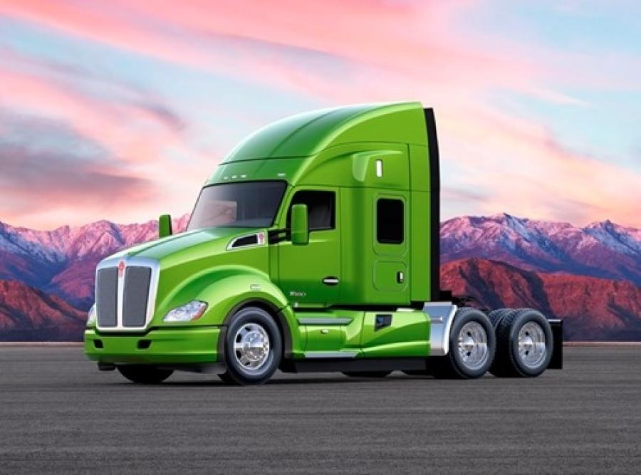 Kenworth's new, fuel-efficient T680 52-inch mid-roof sleeper Advantage Package, for regional haul and less-than truckload operations.