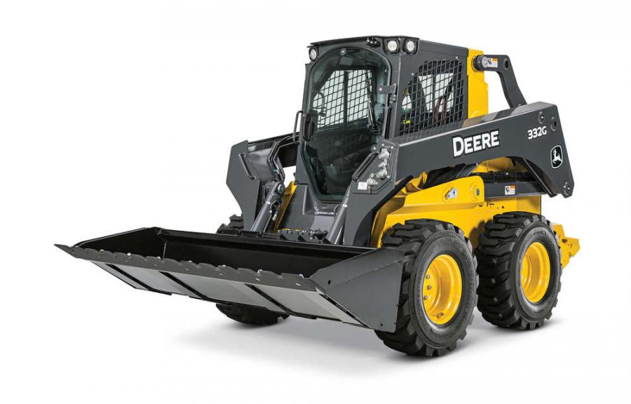 Designed to take advantage of the improved performance and boom design of the large-frame 332G skid steer and 333G compact track loader (CTL), John Deere now offers 90-inch Severe-Duty Construction Buckets.