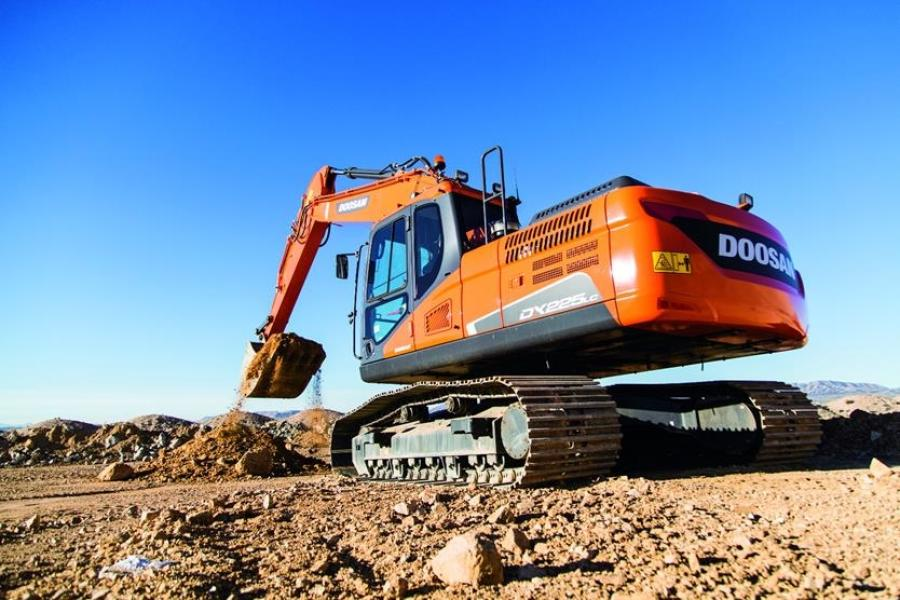 Doosan Construction Equipment will display a variety of machines in two booths at the Las Vegas Convention Center during CONEXPO-CON/AGG in Las Vegas.